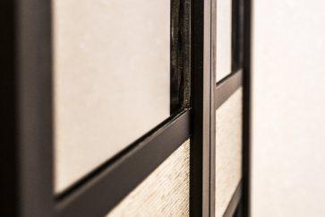 шкаф двери хетик гармошка